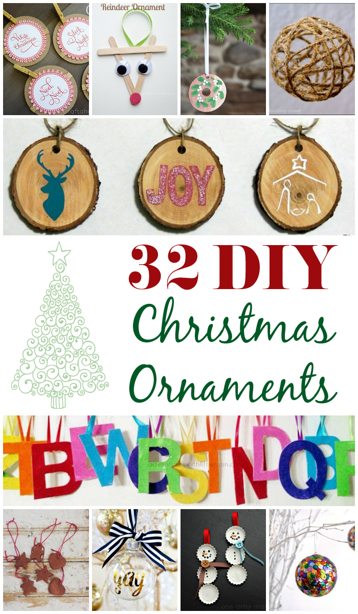 Craftaholics Anonymous 174 32 Diy Christmas Ornaments