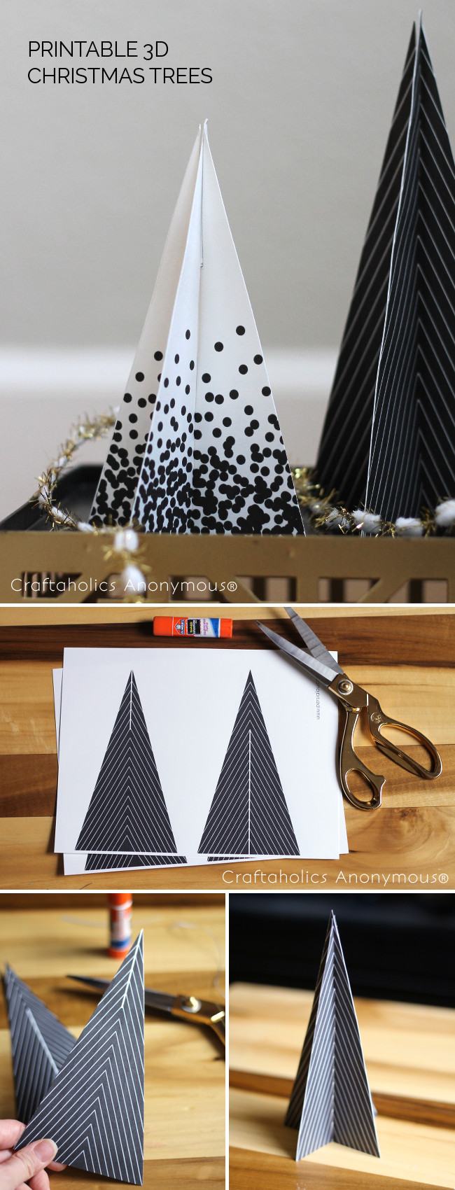 black and white christmas  | Craftaholics Anonymous®