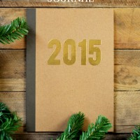 New Year Embossed Journal