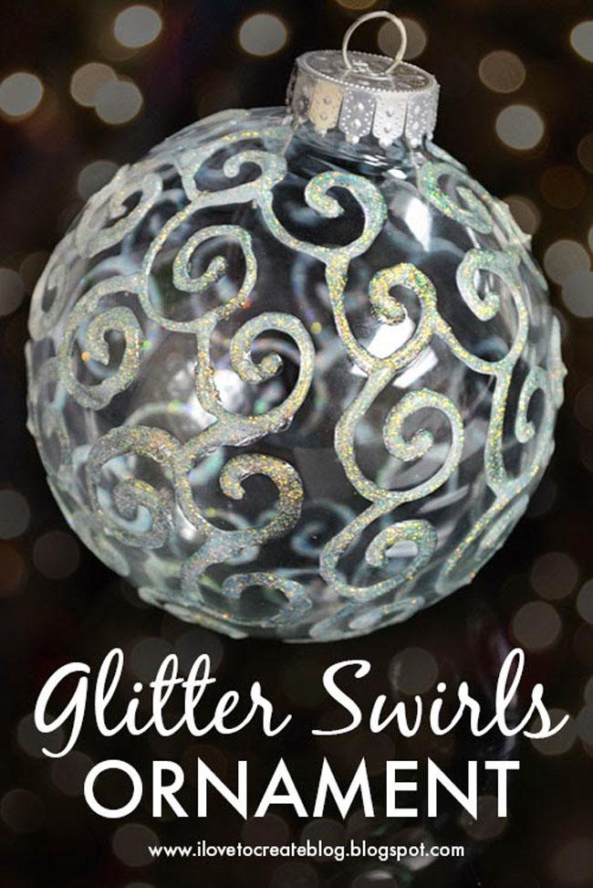 glitter swirl