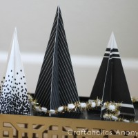 printable 3d christmas trees 4