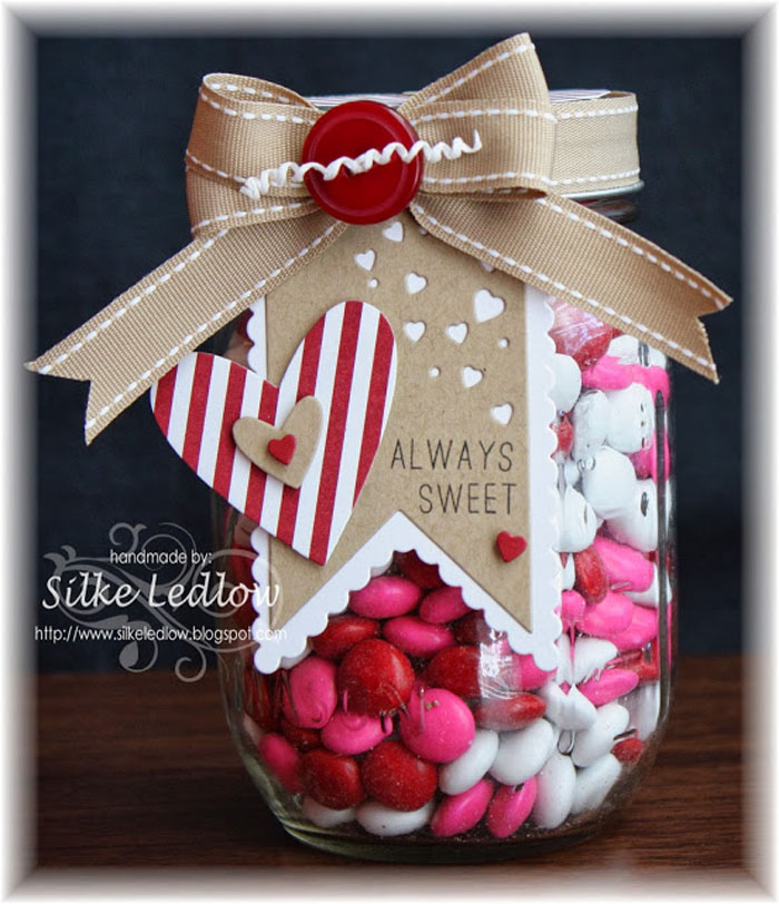 Craftaholics Anonymous 49 Valentines Gift In A Jar Ideas