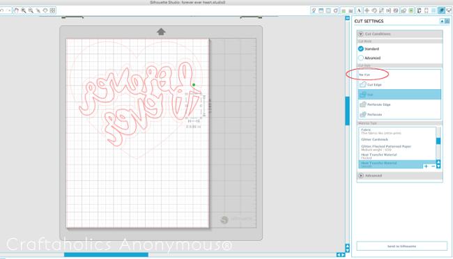 Designing in Silhouette Design Studio