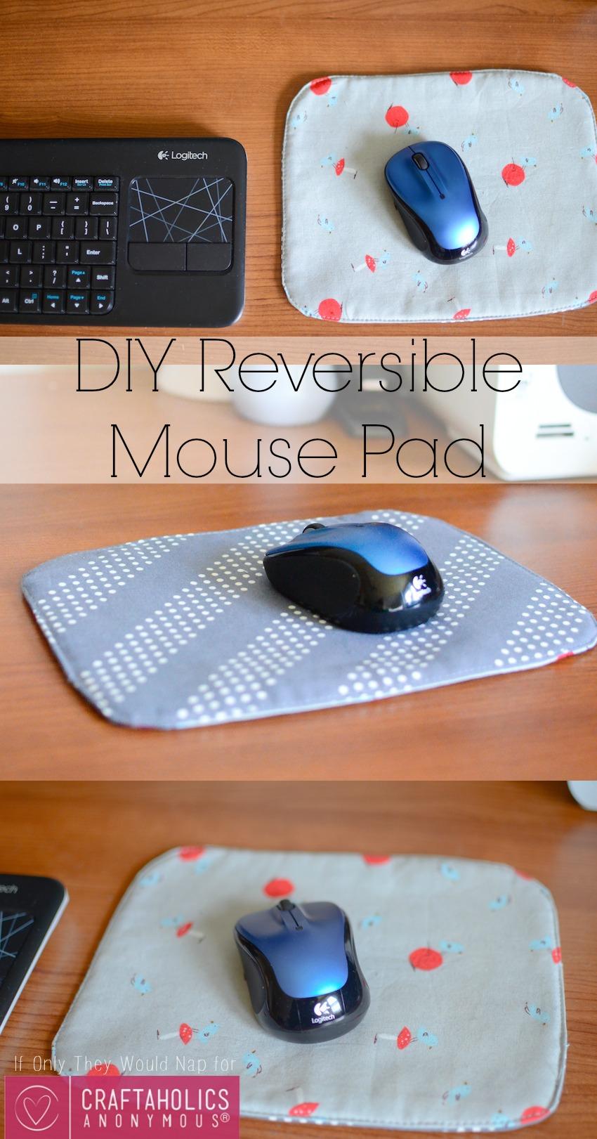 DIY Reversible Mouse Pad