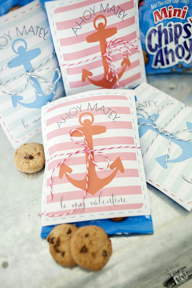 Ahoy Matey Printable from Kristen Duke Photography || Chocolate chip ...