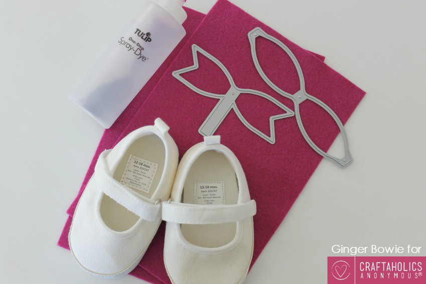 make your own baby shoes