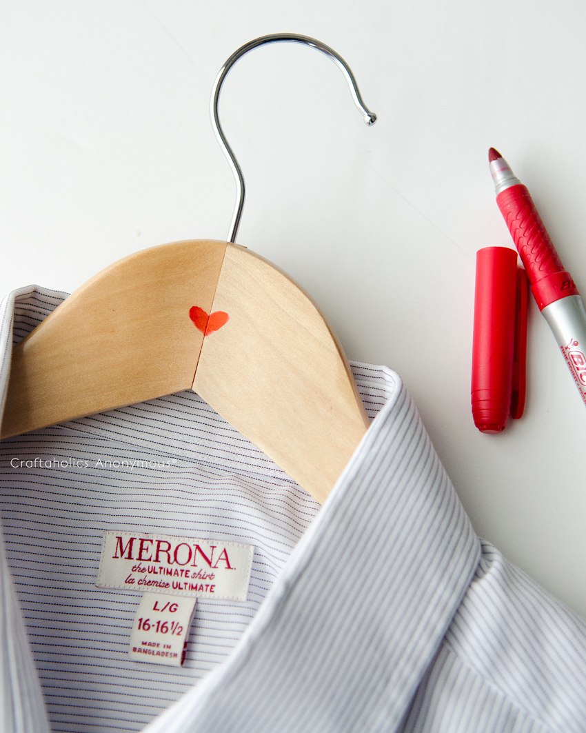 Red Heart Hangers || Easiest Valentine for Him ever!