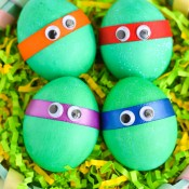 Dyed-Ninja-Turtles-Easter-Eggs