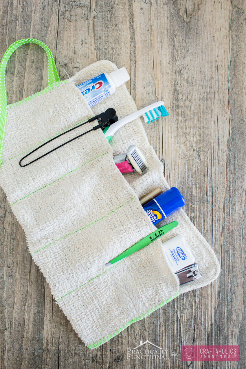 Craftaholics Anonymous 174 Diy Washcloth Travel Kit