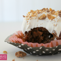 Ooey Gooey Chocolate Cupcakes Recipe