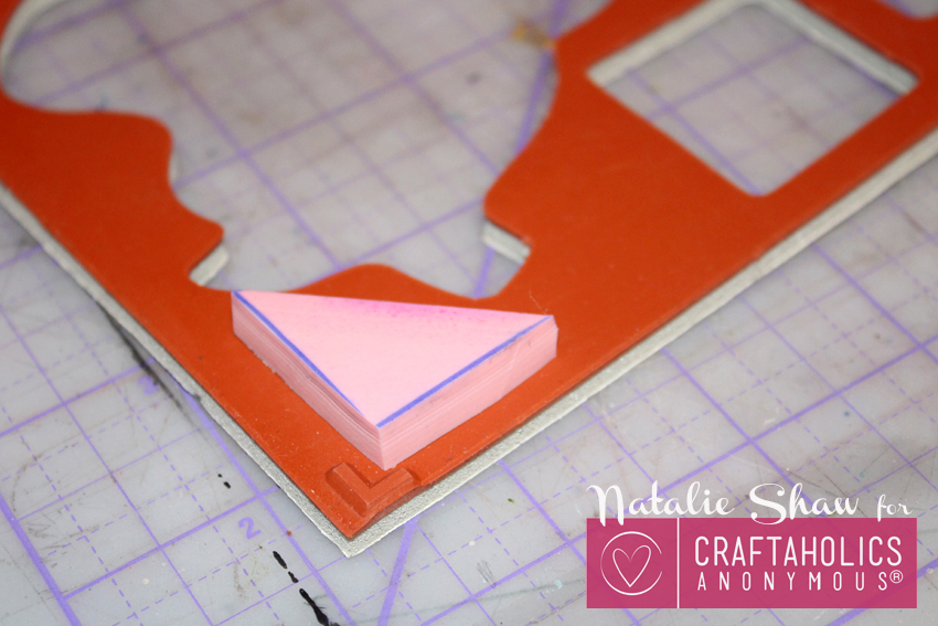 diy tangrams rubber stamps geometric cards (10)