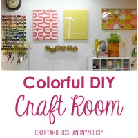 Craft Room Tour: Dena of Hearts and Sharts
