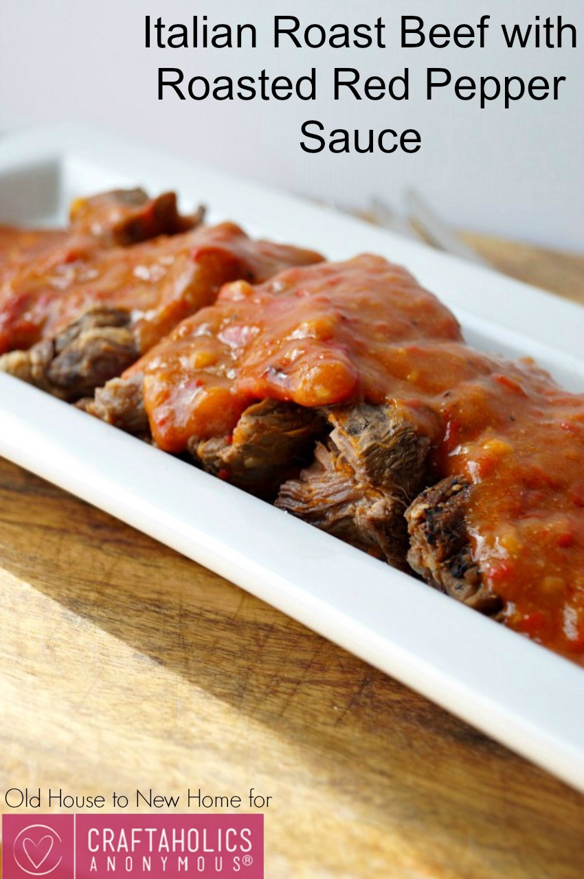 roast beef recipe || the sauce is the best!