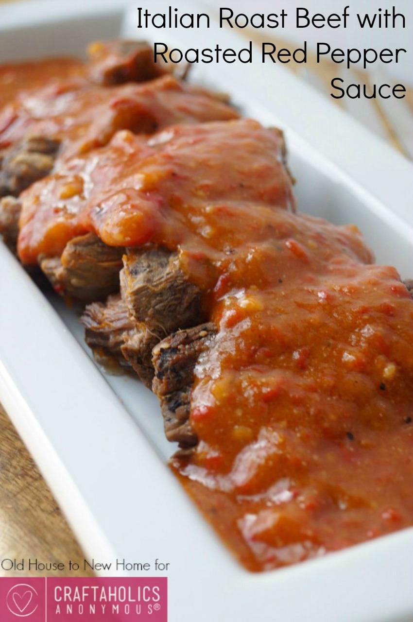 Flavorful Roast Beef recipe || The sauce is amazing! Best roast beef I've ever had.
