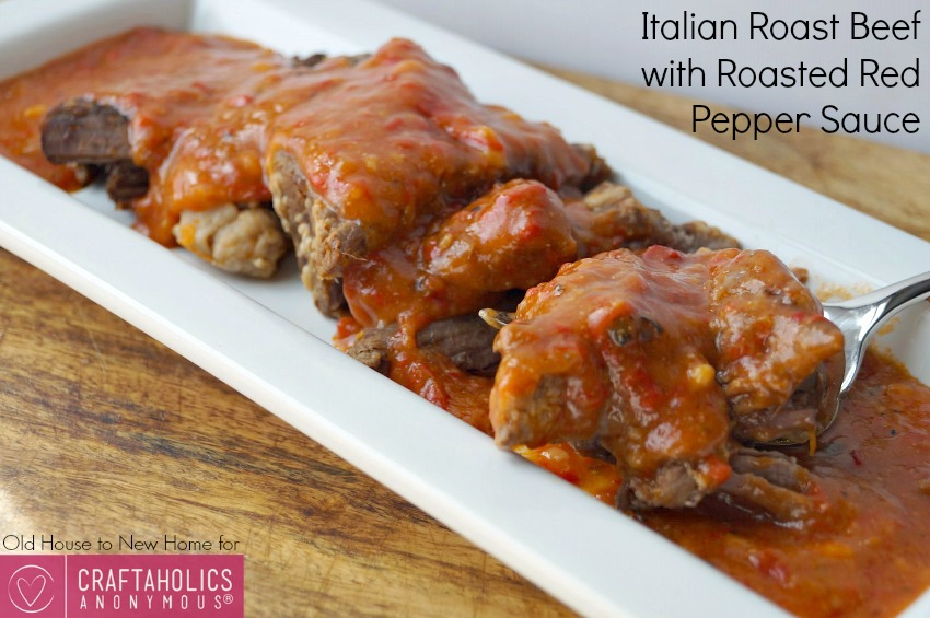 Best Roast Beef recipe || The red pepper sauce is to die for!