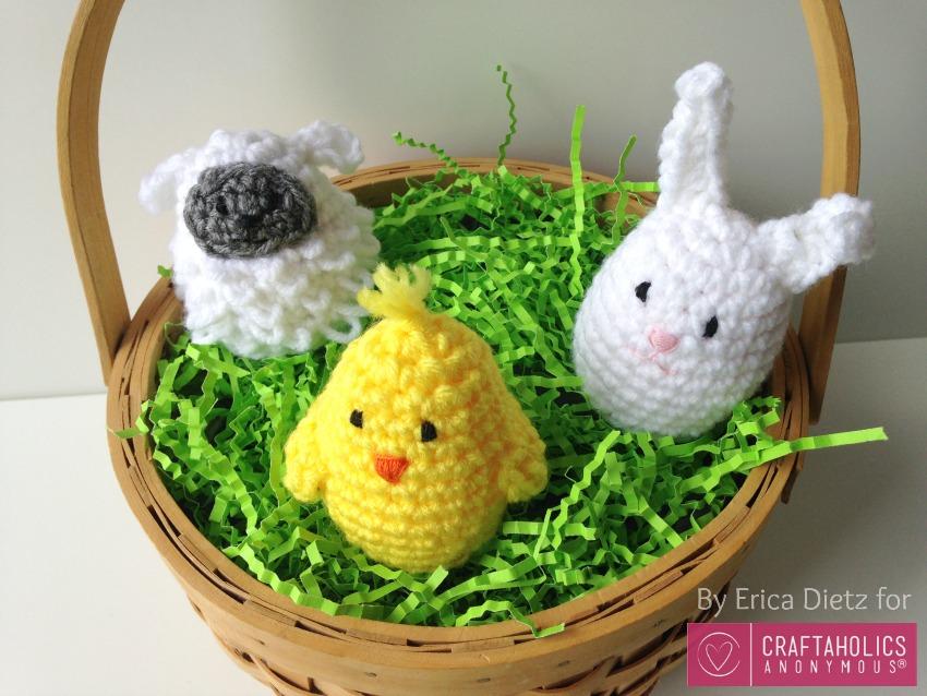 Free Crochet Easter Pattern for Egg Covers