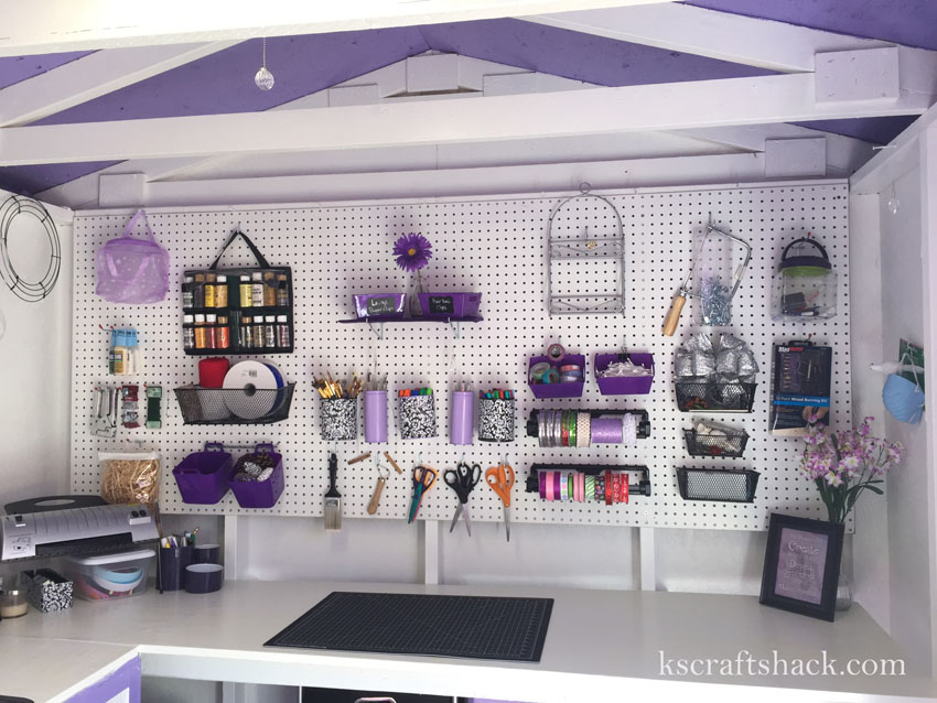 Pegboard Ideas For Craft Room