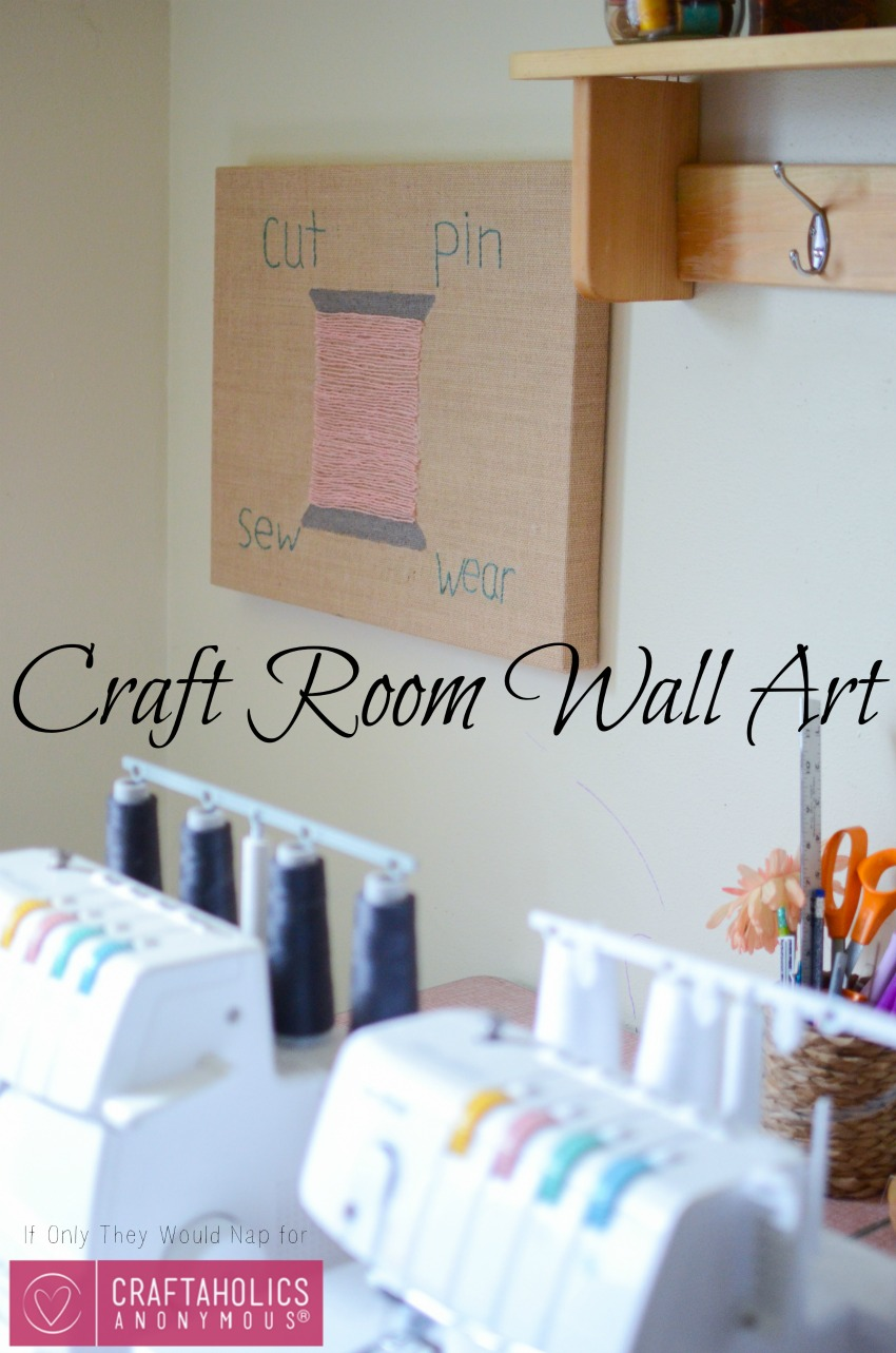 Wall Art For Craft Room : Craftaholics anonymous? craft room wall art