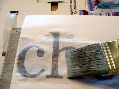 Craftaholics Anonymous® | How to Paint Letters on Wood