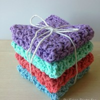 How to Crochet Washcloths Tutorial