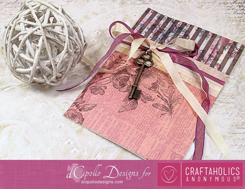 Vintage Note Card SVG Print and Cut dCipollo Designs