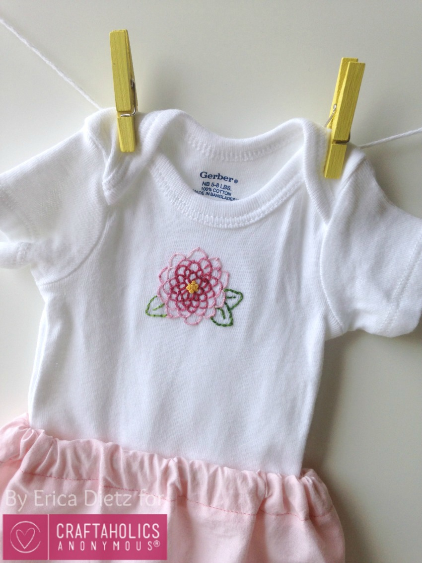 Craftaholics Anonymous 174 Baby Gift Idea Embroidered Baby
