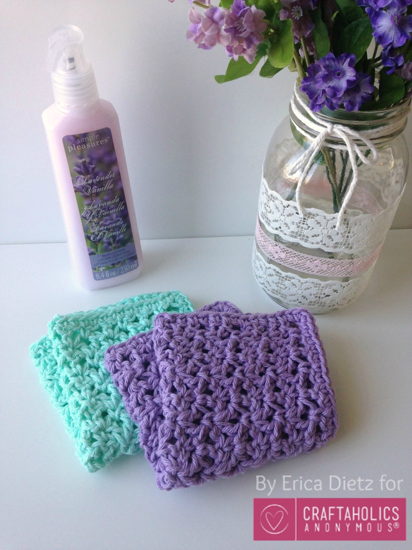 handmade mothers day gift idea || crochet wash cloths with lotion or soap