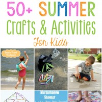 50+ Summer Crafts for Kids
