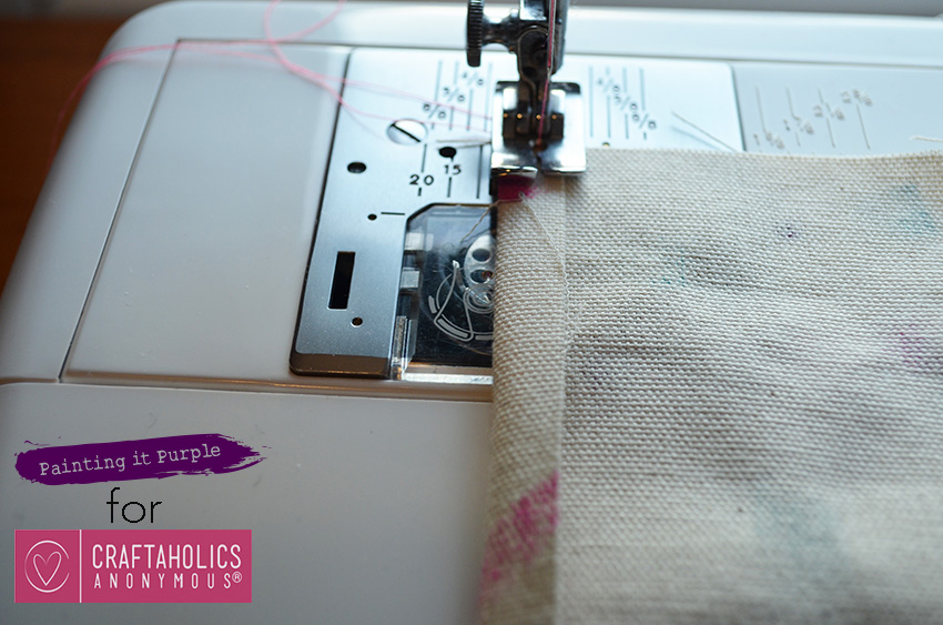 how to sew a gift card holder