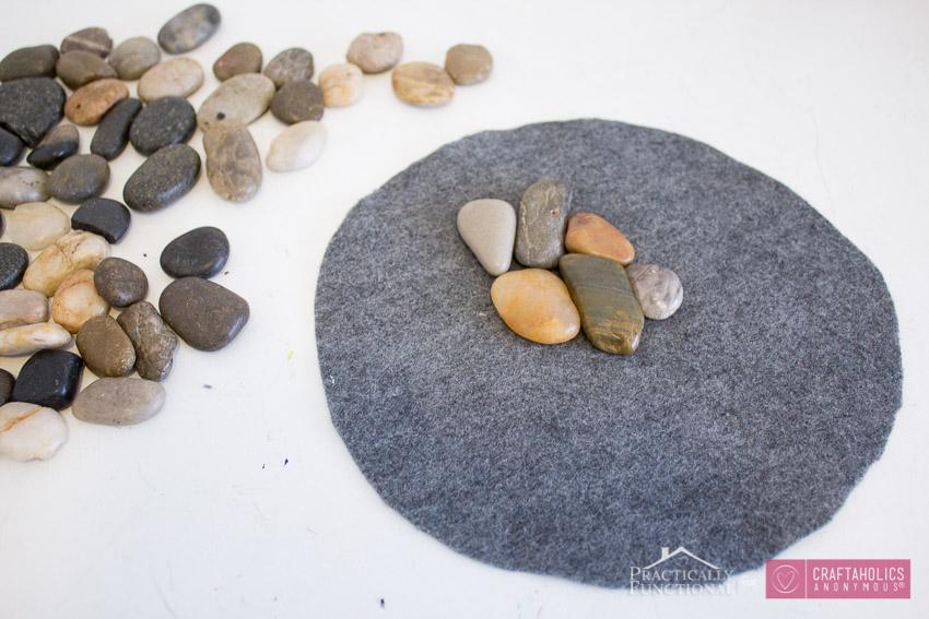 DIY River Rock Trivets-5