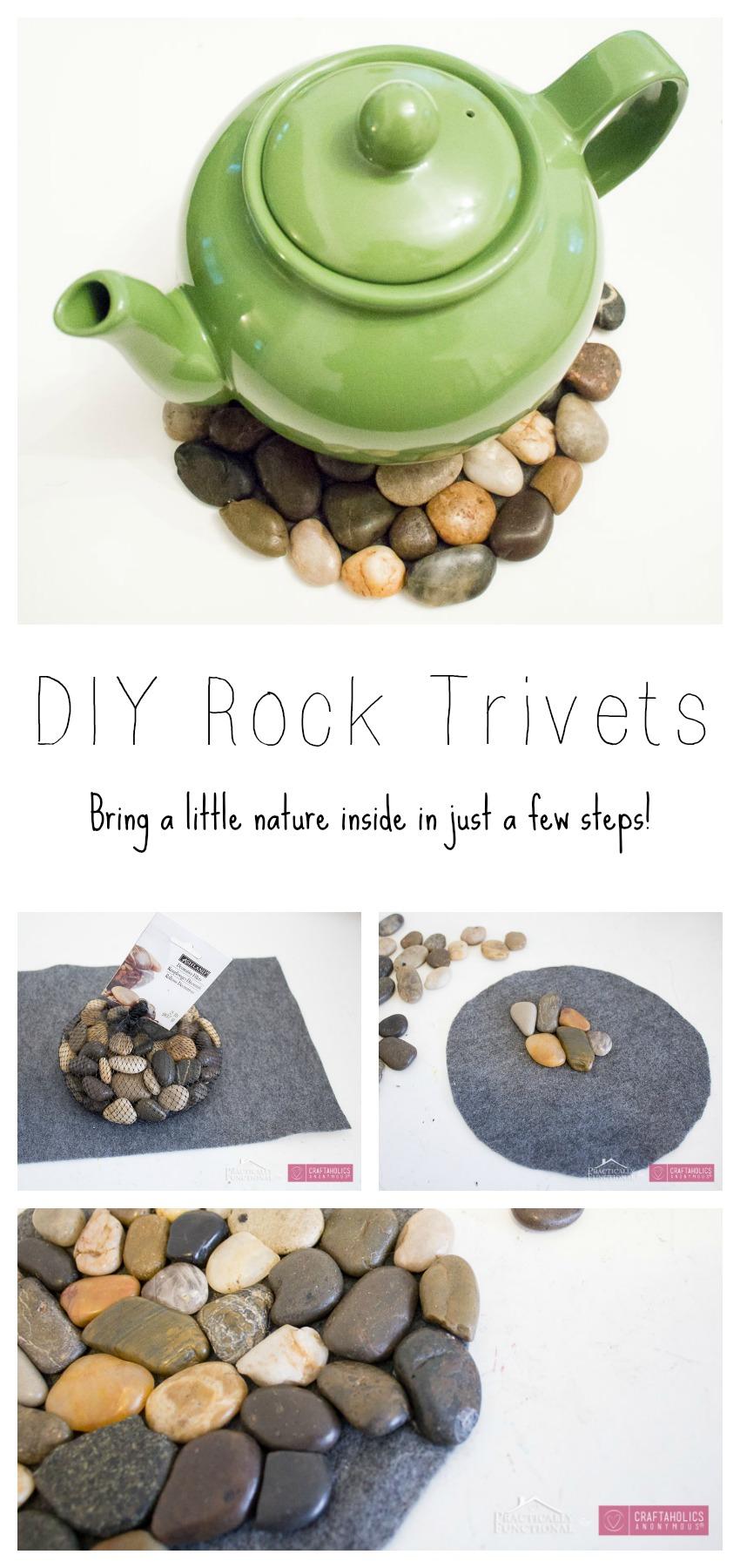 DIY River Rock Trivets-7