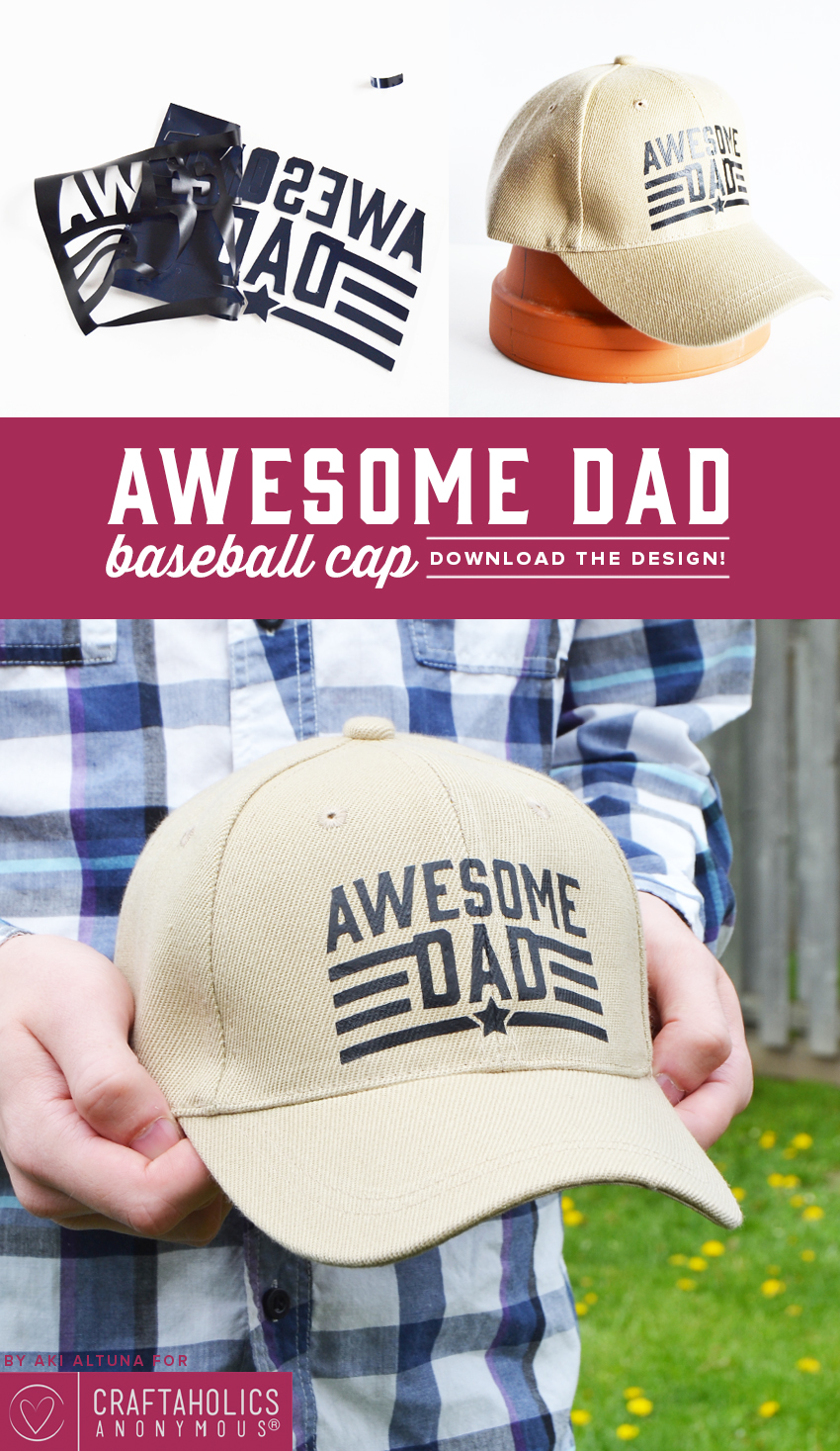 father's day baseball cap