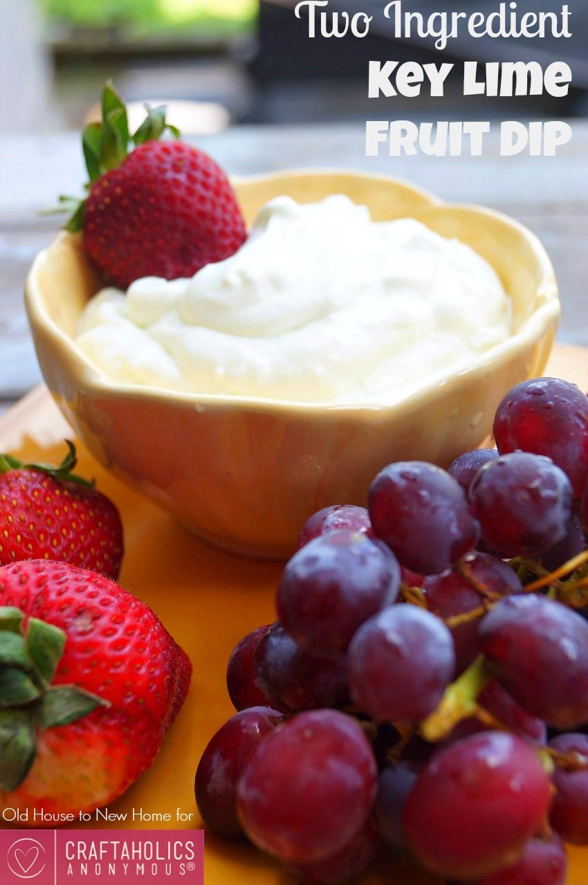 easy fruit dip