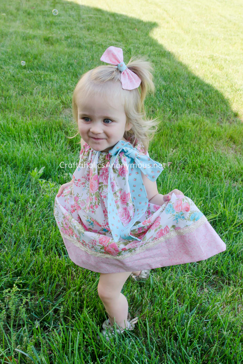 Adorable pillow case dress || Can buy the pre-cut fabric kit