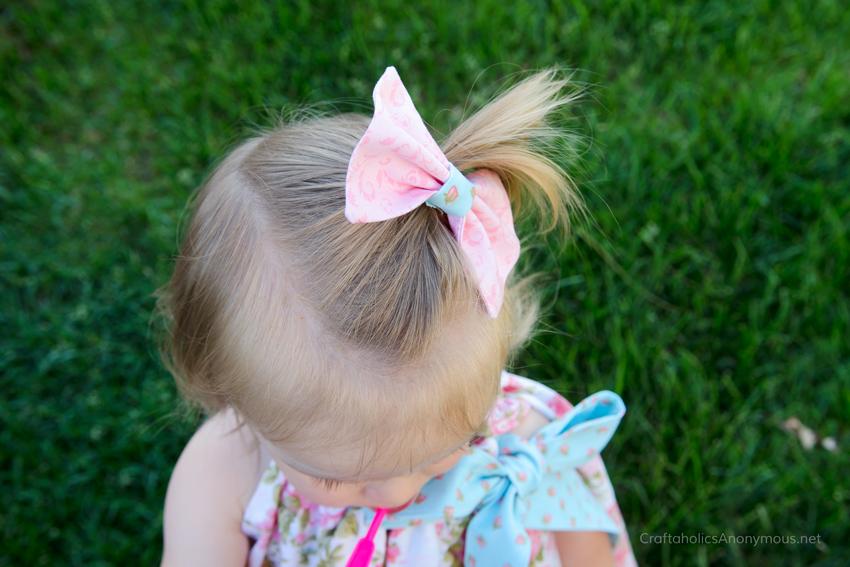 handmade hair bow