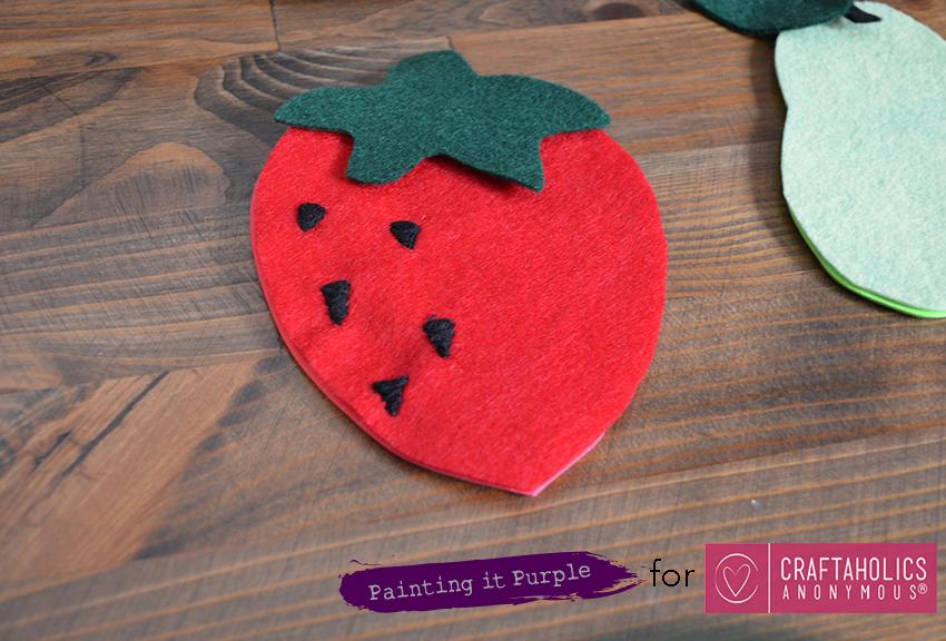 DIY Fruit Coasters Step 3