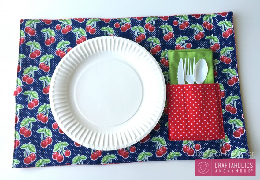 cherry placemat