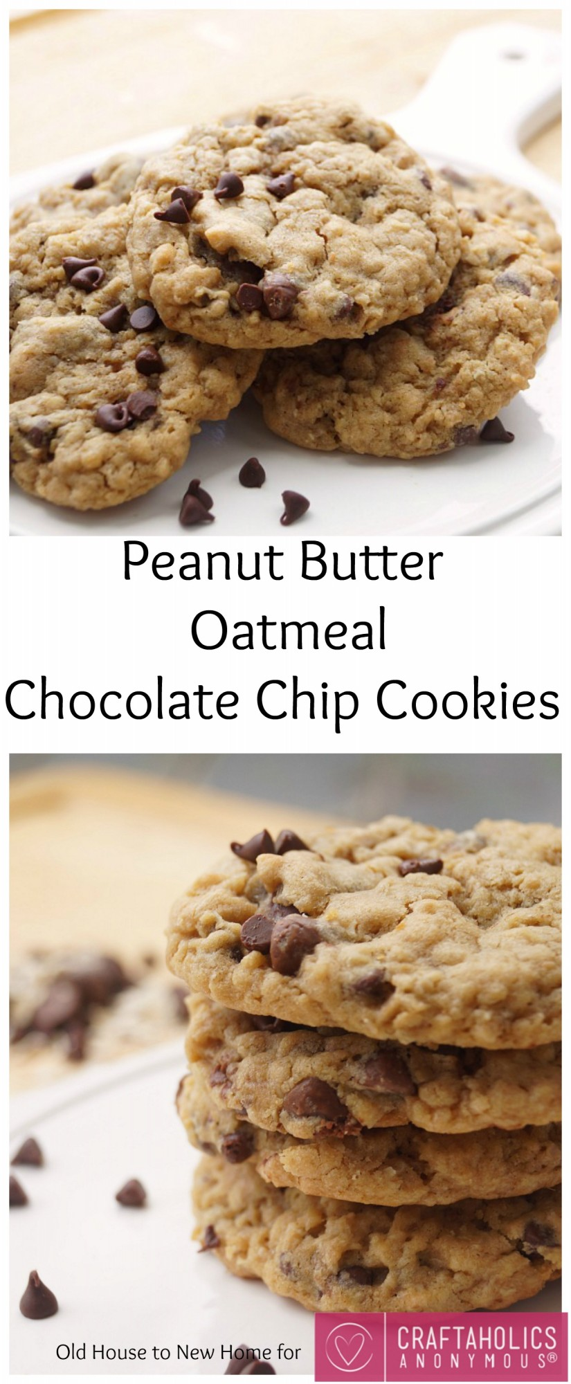 ... Anonymous® | Peanut Butter Oatmeal Chocolate Chip Cookies