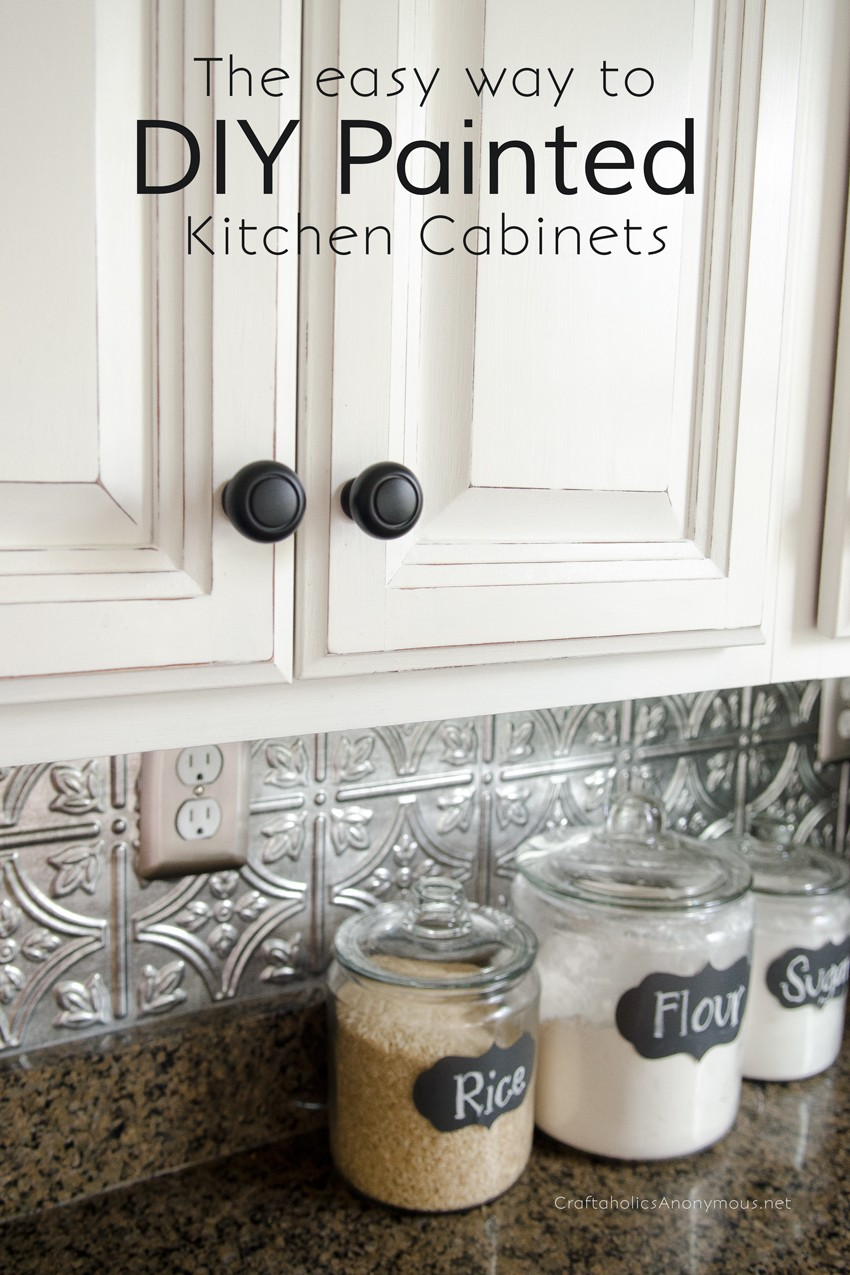 Craftaholics Anonymous® | How to Paint Kitchen Cabinets with ... on kitchen cabinet and countertop ideas, kitchen cabinet and shelves ideas, kitchen cabinet and counter ideas, kitchen cabinet and tiles, kitchen cabinet and island ideas, kitchen cabinet and granite ideas, kitchen cabinet and floor ideas,