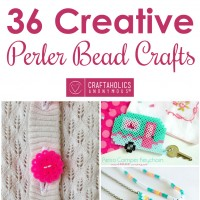 36 Creative Perler Bead Crafts