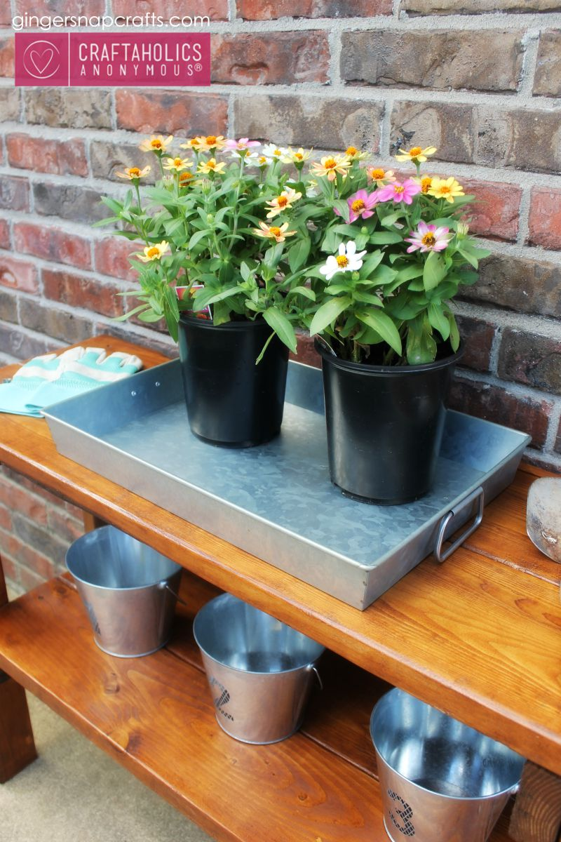 CA garden bench tutorial #DIY