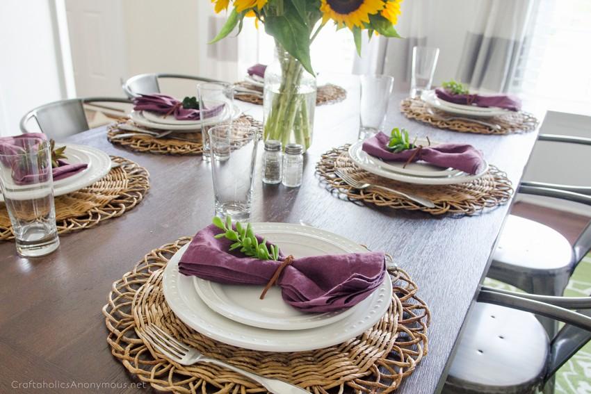 Autumn Dining Room decor ideas