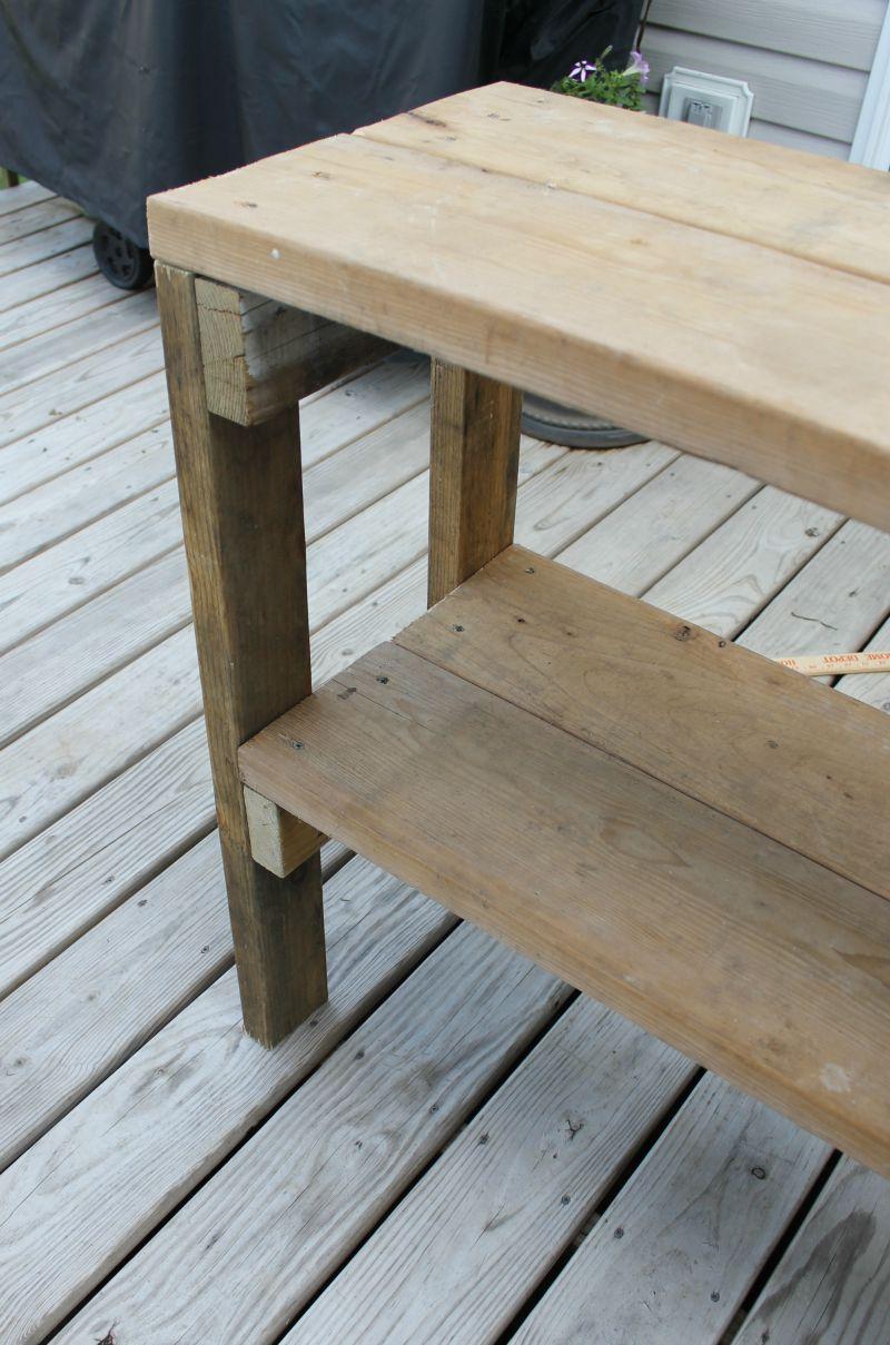 garden bench easy