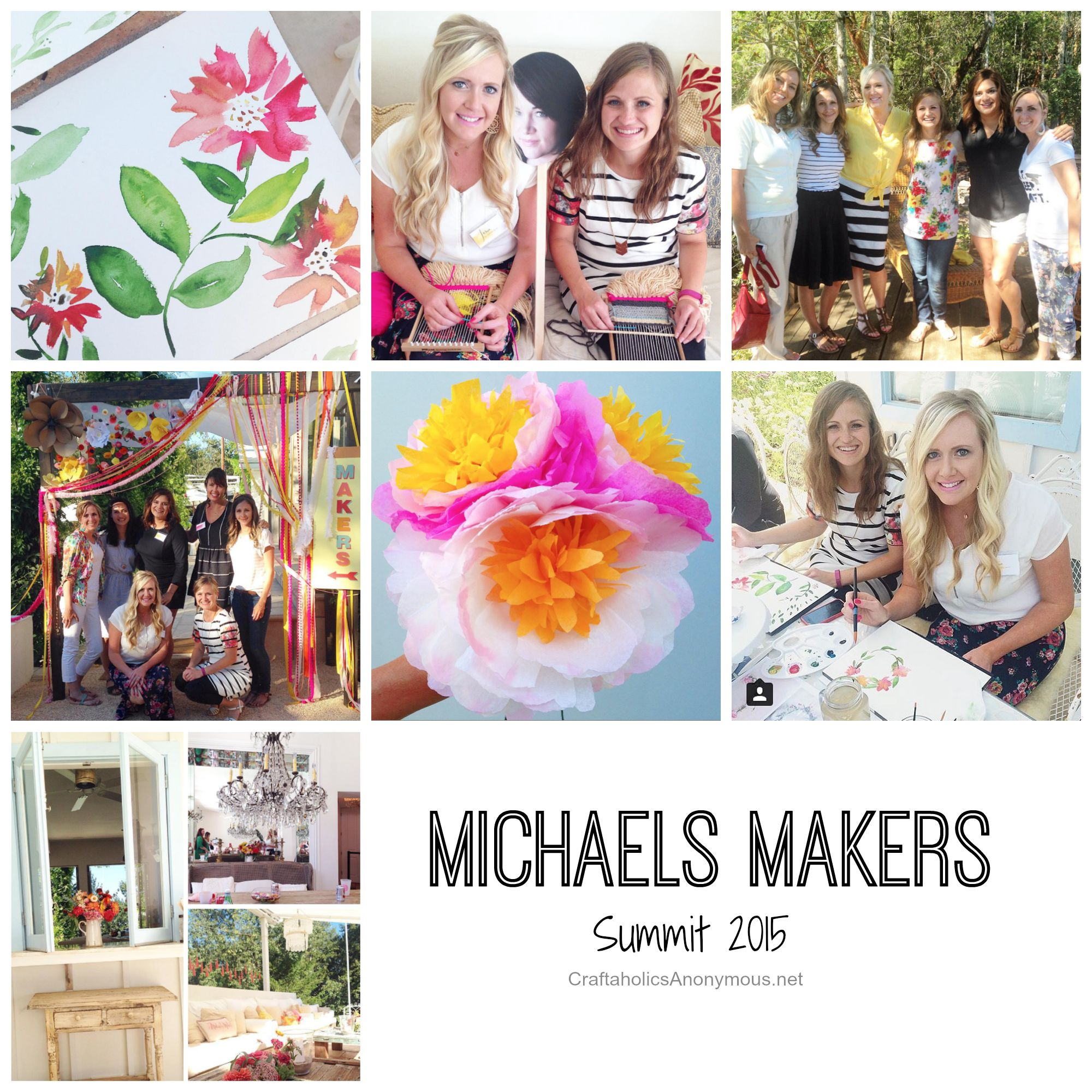 Craftaholics anonymous michaels makers summit for Michaels crafts button maker