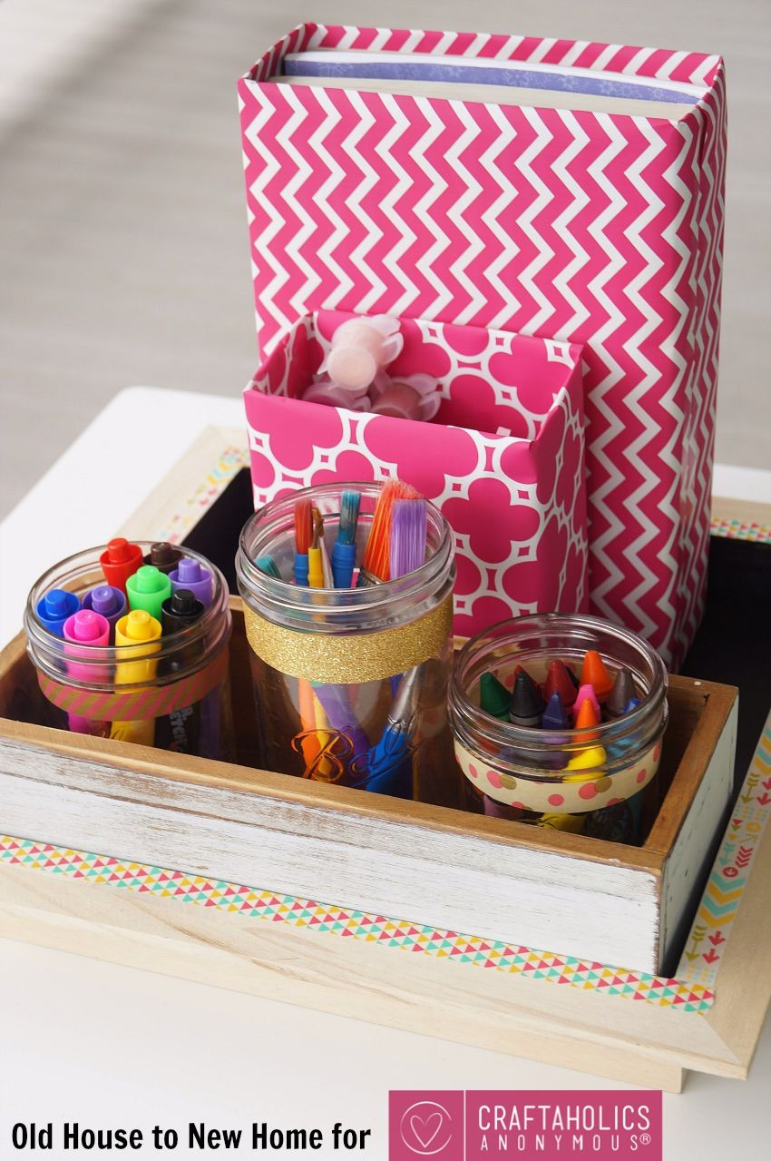 Easy School Supplies Organizer