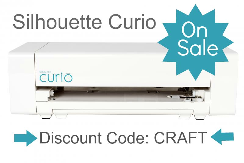 silhouette curio discount :: use code: CRAFT