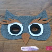 DIY Owl Mask 4