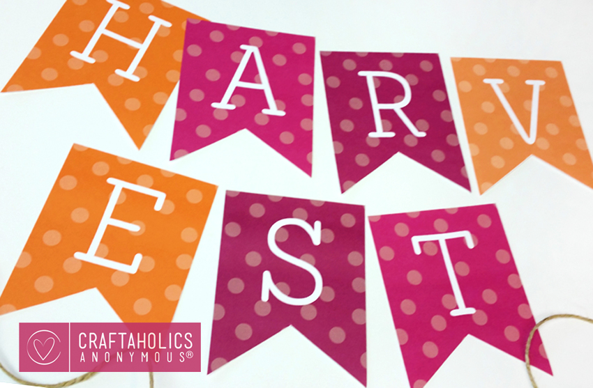 Fall Printable Decor @CraftaholicsAnonymous