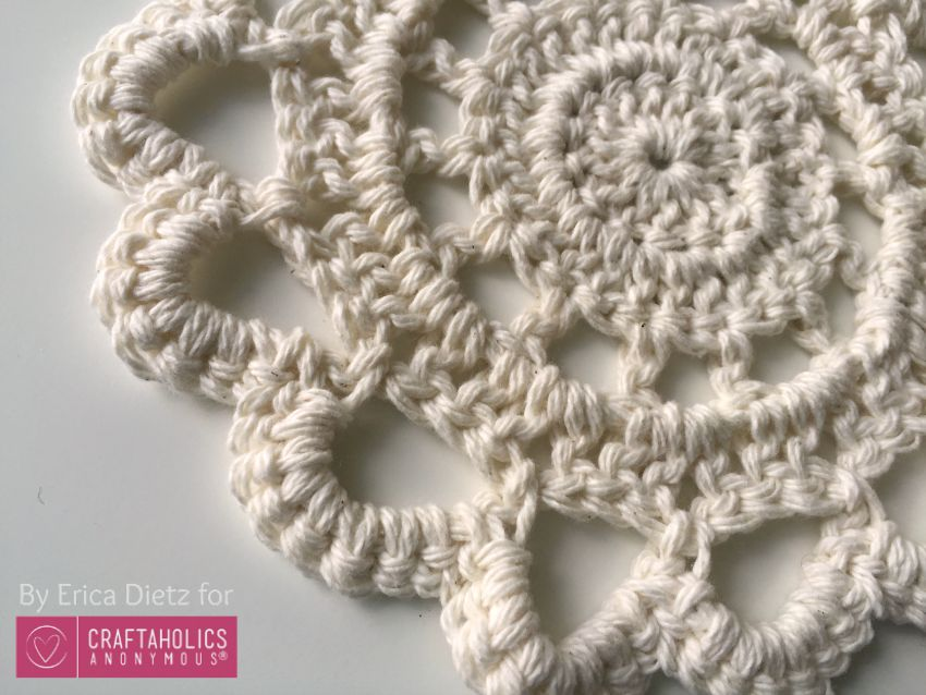 DIY Crochet Doily