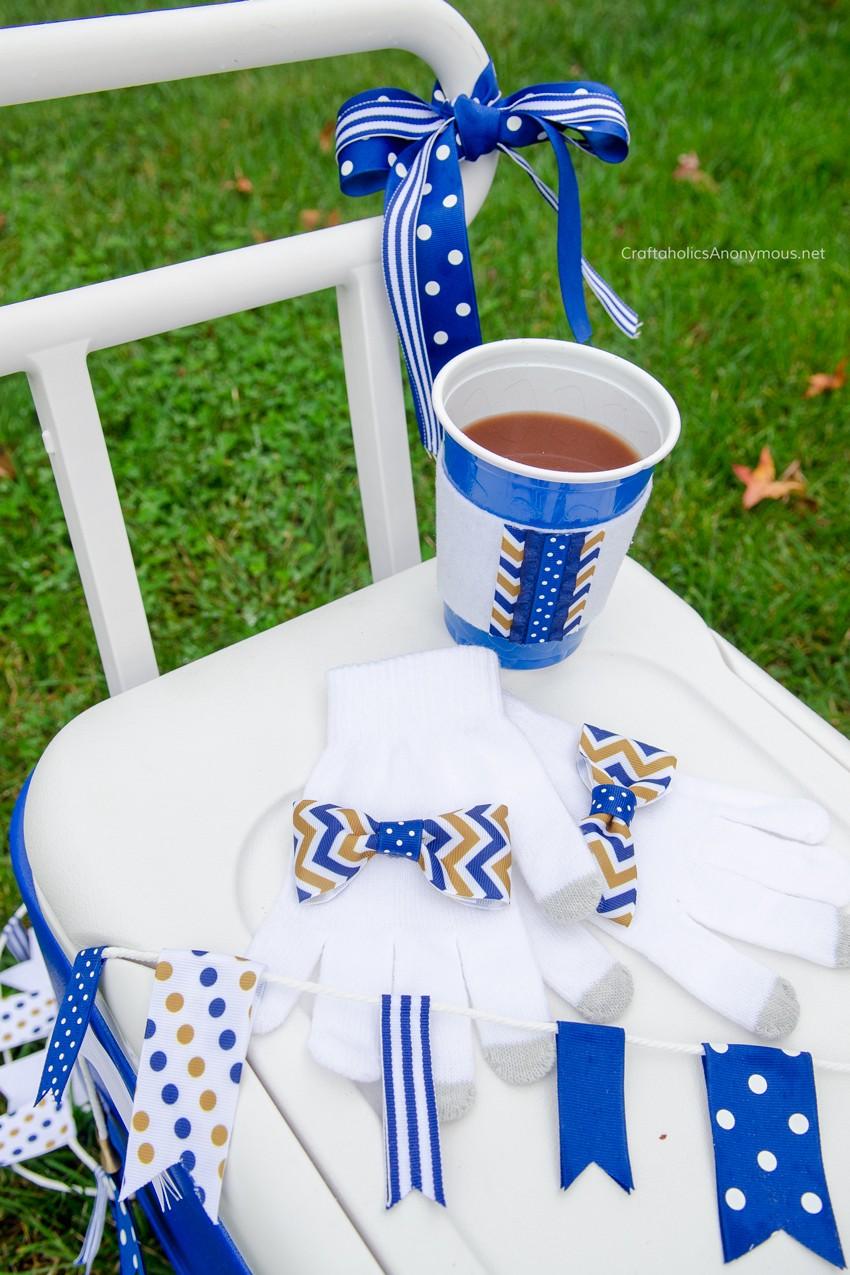 football-ribbon-crafts